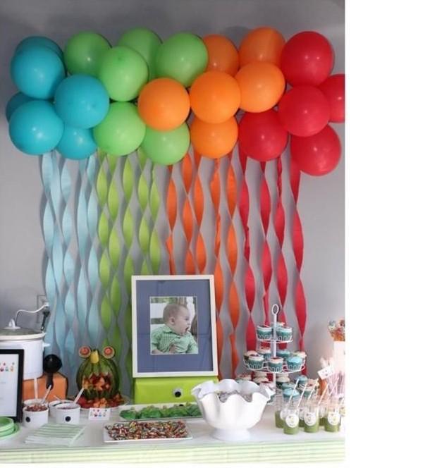 Festa de anivers rio 14 ideias para o 1 ano do seu filho for Mural de fotos 1 ano