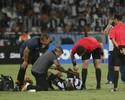 Exame não aponta fratura, mas Airton preocupa para a decisão no Chile