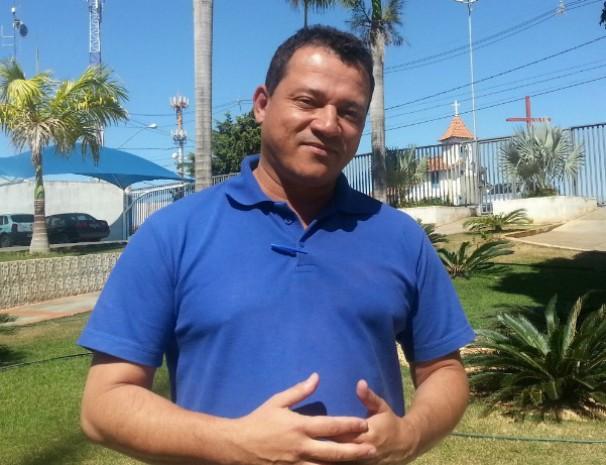 João Edwar apresenta retrospectiva do Inter TV Rural. (Foto: Nicole Melhado / Inter TV MG)