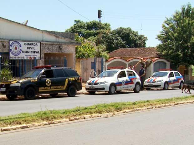 Sede da Guarda Civil Municipal de Estiva Gerbi (Foto: Reprodução EPTV)