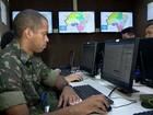 Forças Armadas fazem simulação de ações para época de chuvas no ES