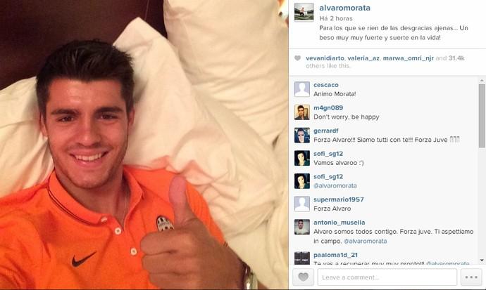 Alvaro Morata Juventus Instagram (Foto: Reprodução/Instagram)