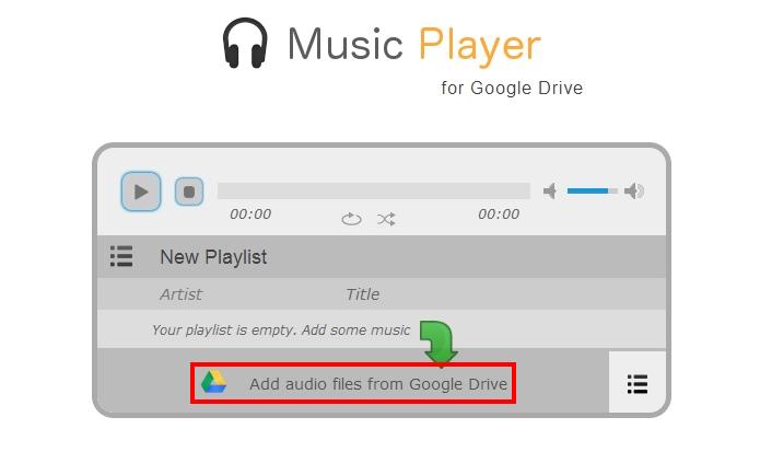 Adicione suas músicas ao player na web (Foto: Reprodução/Paulo Alves)