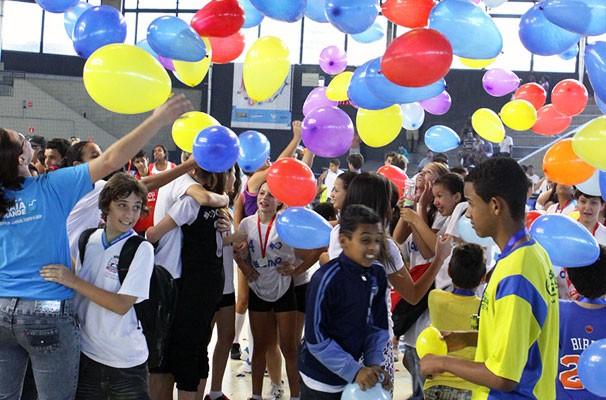 Final 9ª Copa TV Tribuna de Handebol Escolar (Foto: José Luiz Borges)