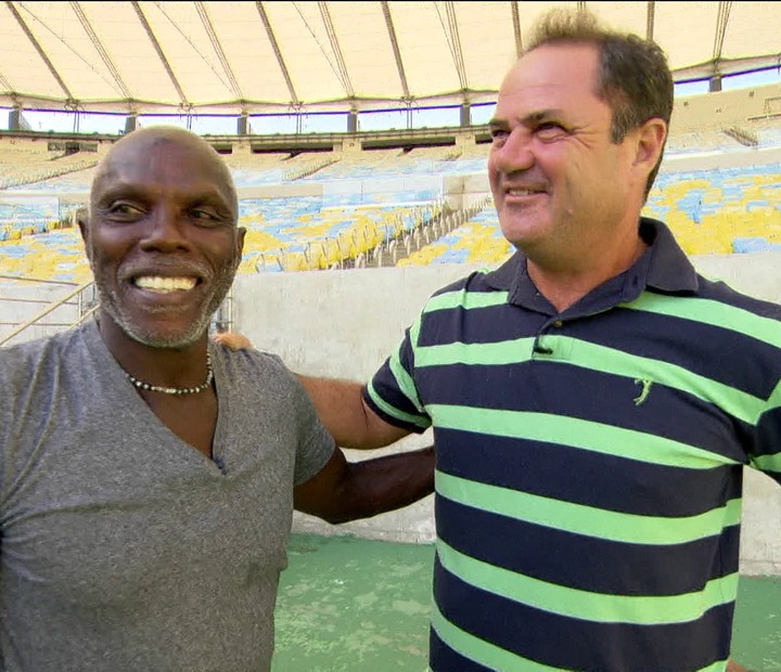 Claudio Adão e Vica relembram final do Carioca de 85