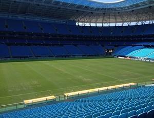 grêmio arena huachipato gramado (Foto: Divulgação)