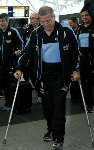 Oscar Tabárez Uruguai (Foto: Efe)