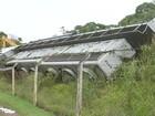 Trem descarrila na zona rural de Itapetininga