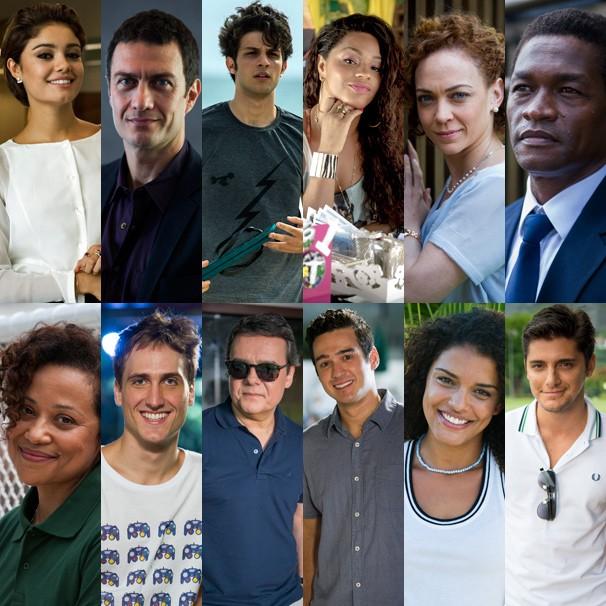 Os personagens da novela das nove Babilônia, que você conhece a partir do dia 16 de março (Foto: Globo)