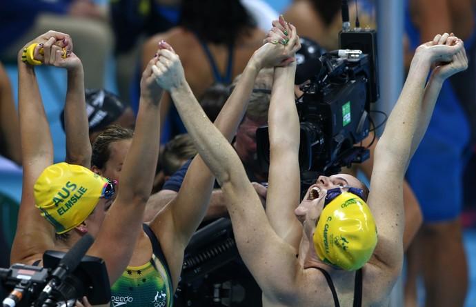 Austrália, revezamento 4 x 100m feminino - Rio 2016 (Foto: Reuters)