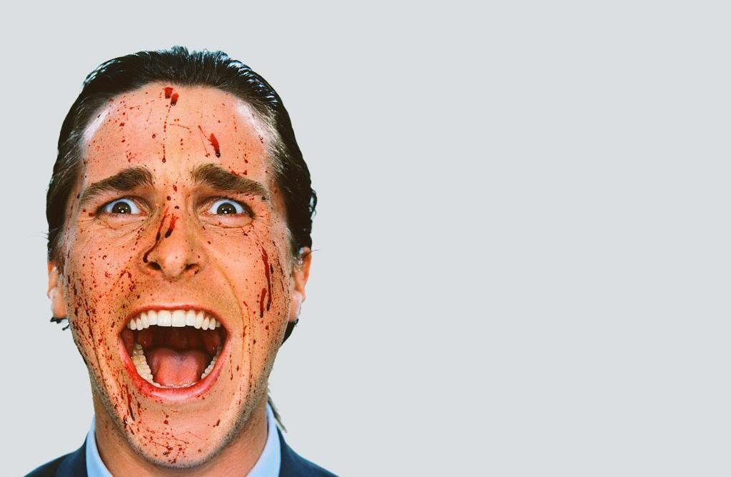 Christian Bale em 'Psicopata Americano' (Foto: Divulgação)