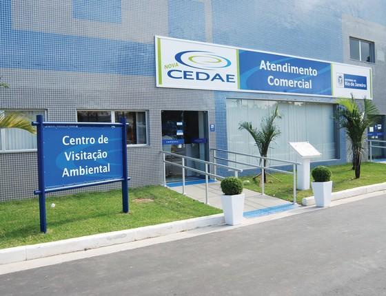 Companhia Estadual de Águas e Esgotos (Foto: Cedae)