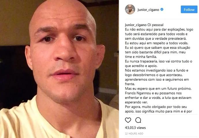 Junior Cigano (Foto: reprodução/Instagram )
