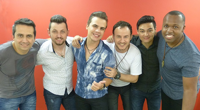 Banda Kanoa segue para repescagem no 'SuperStar' (Foto: Bruna Magalhães/Gshow)