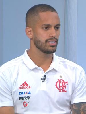 Rômulo, Flamengo, Troca de PAsses (Foto: Reprodução SporTV)