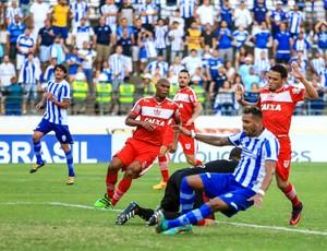 CSA x CRB, no Estádio Rei Pelé (Foto: Aílton Cruz/Gazeta de Alagoas)