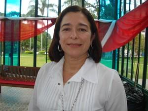 Diretora da instituição comemora aproveitamento das crianças (Foto: Divulgação/Canta Petrópolis)