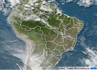 agricultura-tempo-mapa (Foto: Somar Meteorologia)
