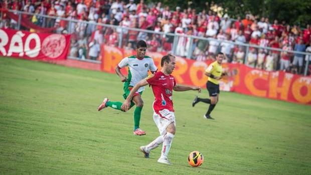 Fabinho foi o maestro do jogo (Foto: Filippe Araújo/FSF)