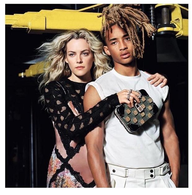 Jaden e Riley Keough em campanha (Foto: Reprodução )