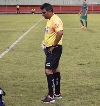 Fábio Santos, árbitro acreano (Foto: Duaine Rodrigues)