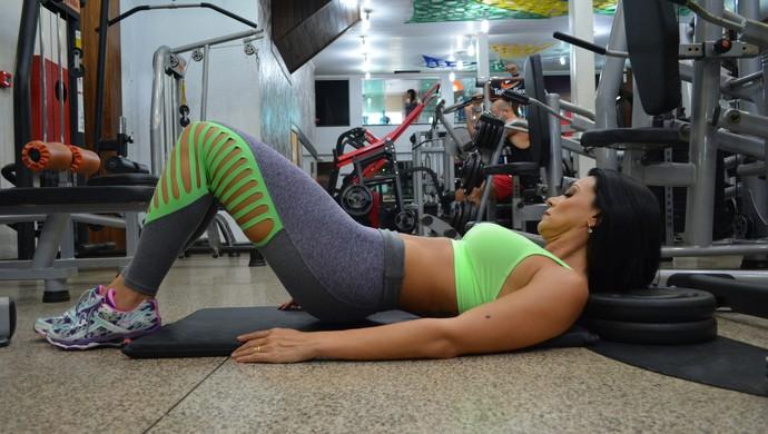 Jacque Suzana, mamãe fitness de RO (Foto: Matheus Henrique)