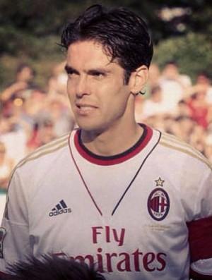 Kaká como capitão na reestreia pelo Milan (Foto: Reprodução/Instagram)