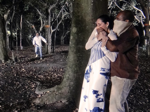 Marcelo se enche de coragem e tenta resgatar Maria Inês (Foto: TV Globo)