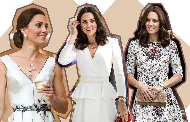 Desvendamos os looks de Kate Middleton no tour com a família pela Europa Oriental (Foto: Reprodução )