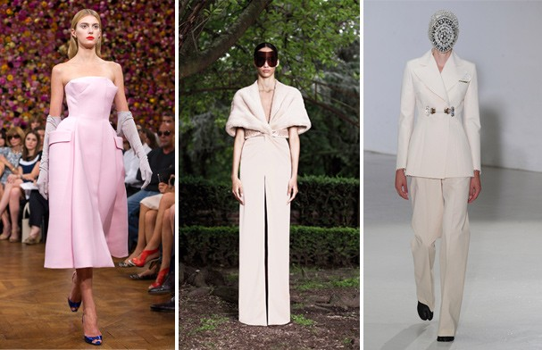 Dior, Givenchy e Margiela (Foto: Getty Images)