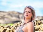 Janaina Santucci: 'Falta pouco para chegar a corpo que quero no Carnaval'