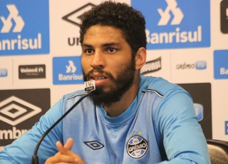 Wallace Reis Grêmio (Foto: Eduardo Moura/GloboEsporte.com)