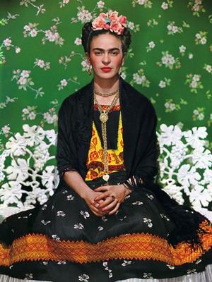 Frida Kahlo fotografada pelo húngaro Nickolas Muray (Foto: Nickolas Muray/Divulgação)