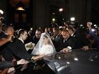 Preta Gil chega à igreja para o seu casamento com Rodrigo Godoy