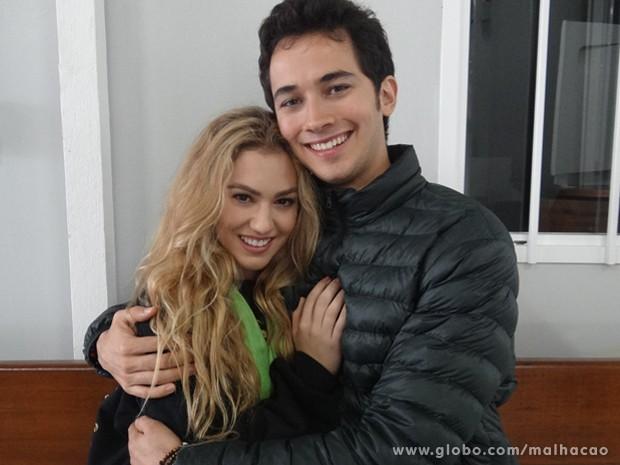 Chrystiane Lopes faz participação como namorada americana de Ben (Foto: Malhação / TV Globo)