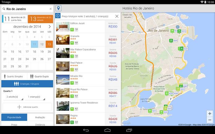 Trivago é um app para encontrar hotéis baratos (Foto: Divulgação)