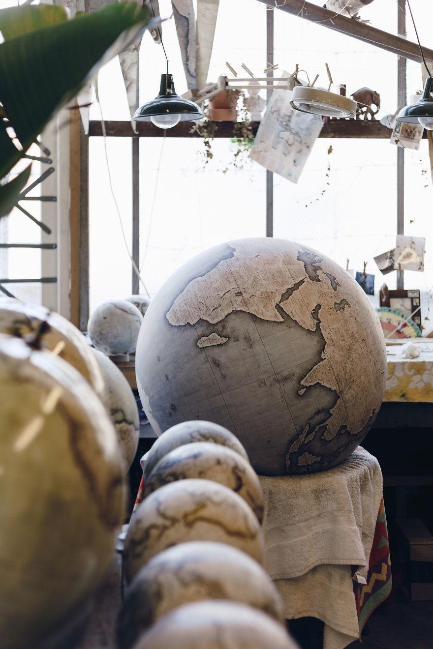 globo terrestre (Foto: Reprodução/Bellerby and co)