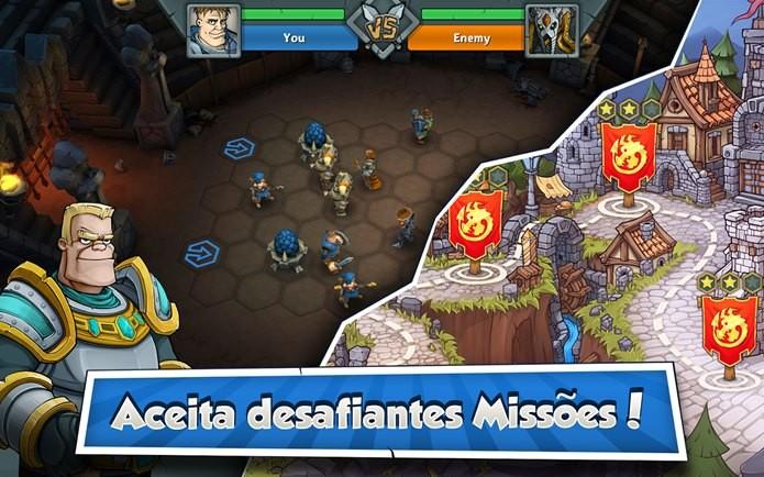 Game de estratégia tem missões para um jogador e combates multiplayer (Foto: Divulgação)