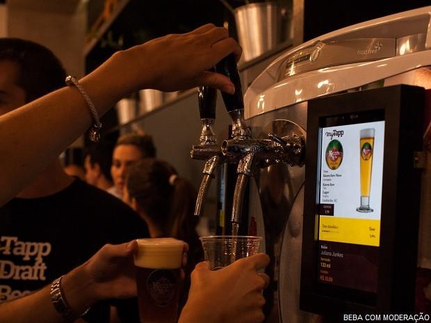 Cervejeiros Choperia Eletrônica Self-Service 3 (Foto: Divulgação myTapp)