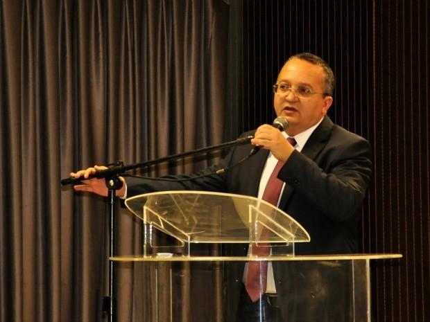 Governador Pedro Taques (PDT) divulgou rombo nas contas públicas. (Foto: Renê Dióz / G1)
