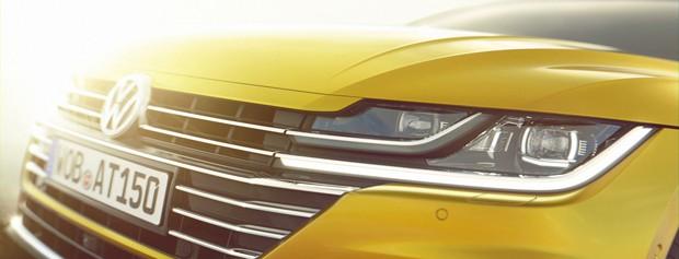 Substituto do CC, Volkswagen Arteon aparece em novas imagens (Foto: Divulgação)
