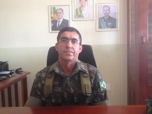 General do Exército Estevão Teófilo, coordenador da Ágata 8 no Amapá (Foto: Abinoan Santiago/G1)