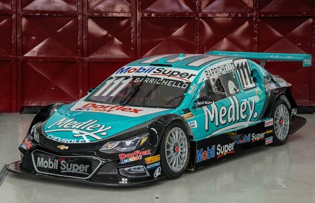 Chevrolet revela novo Cruze como carro da Stock Car 2017 (Foto: Divulgação)