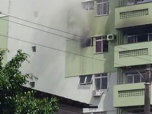 incêndio ágata partamento umarizal (Foto: Reprodução/ TV Liberal)