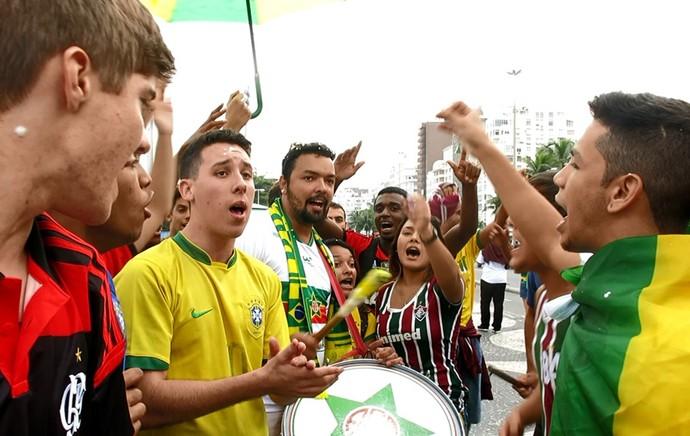 fan fest musica brasil copa do mundo (Foto: Cintia Barlem)