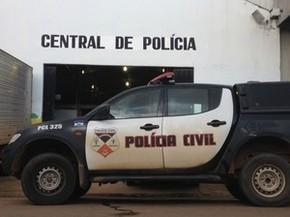 Central de Flagrantes, Porto Velho, RO (Foto: Mary Porfiro/G1)