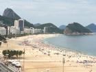 Rio tem sensação térmica de 42,9°C neste domingo