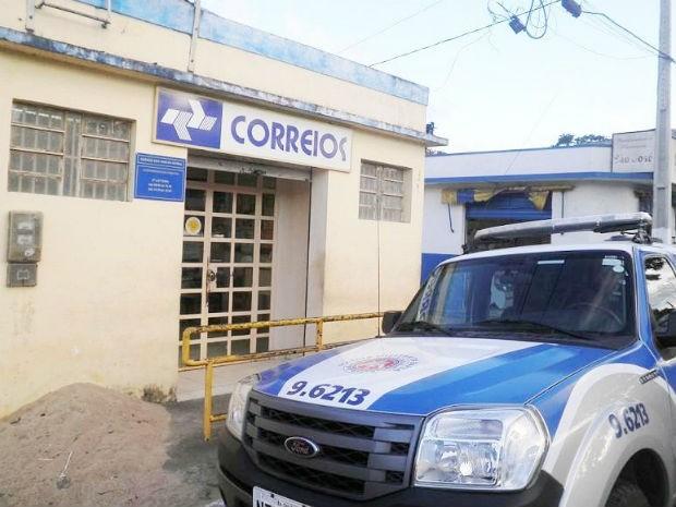 PM é assasinado ao tentar intervir em assalto a agência dos Correios na Bahia (Foto: Leandro Alves / PortalBahiaNews.Com)