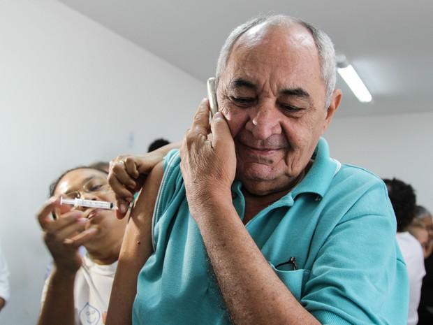 Campanha contra a Influenza H1N1 no Piauí vacina mais de 145 mil em dois dias (Foto: Divulgação/Prefeitura de Teresina)