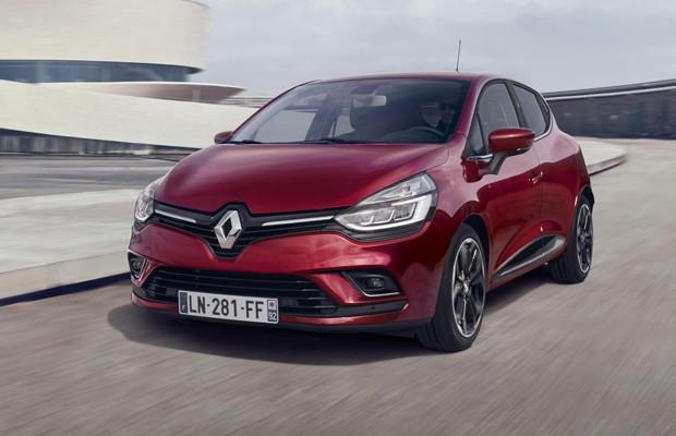 Renault Clio europeu  (Foto: Divulgação)